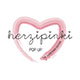 Herzpinki Pop Up
